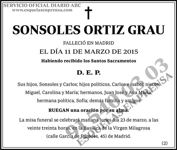 Sonsoles Ortiz Grau